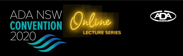 ADA NSW Convention - Online Lecture Series